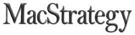 MacStrategy Text Logo to Home Page